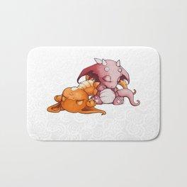 Snoozing Bath Mat