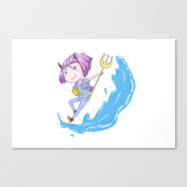Water Devil Canvas Print
