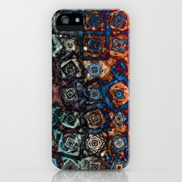Twirling Swirling Madness iPhone Case