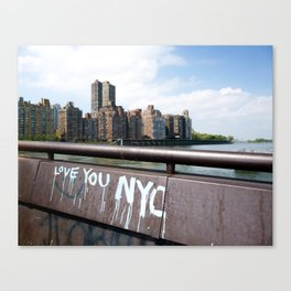 Love You NYC Canvas Print