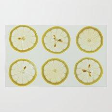 Lemon Square Rug