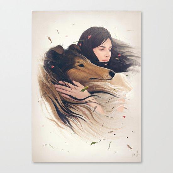 Antaeus Canvas Print