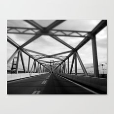 Bridges do so many things. Canvas Print