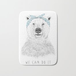 We can do it Bath Mat
