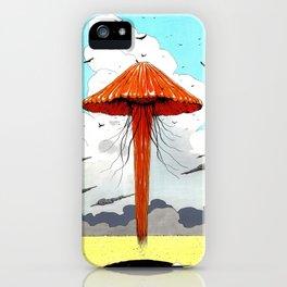 méduse volante #1 iPhone Case