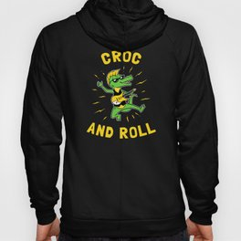 Croc And Roll Hoody