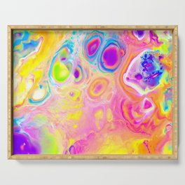 Rainbow Cells Serving Tray