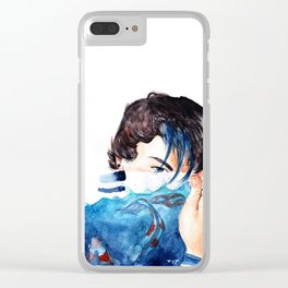 ethan dolan Waterboy Clear iPhone Case