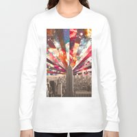 skyline Long Sleeve T-shirts featuring Superstar New York by Bianca Green