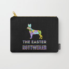 Rottweiler gifts   Easter gifts   Easter decorations   Easter Bunny   Spring decor Carry-All Pouch