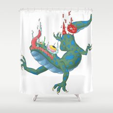 Tail-less Shower Curtain