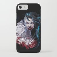 """marceline iPhone & iPod Cases featuring Marceline  """"shades of red"""" by Tyson McAdoo"""