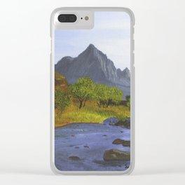 Watchman Mountain, UT Clear iPhone Case