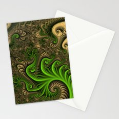 Fantasy World II, Abstract Fractal Art Stationery Cards