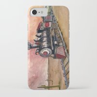 southwest iPhone & iPod Cases featuring Southwest Journey by Jeff Moser Watercolorist