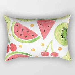 Summer Fruit Punch Rectangular Pillow