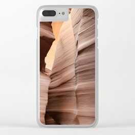 Movement in Lower Antelope Canyon Clear iPhone Case