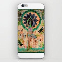 Fusion: Mind, Body, Spirit iPhone Skin