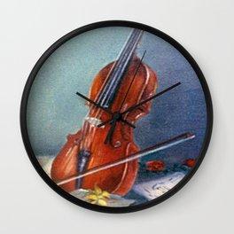 Violín/Violin Wall Clock