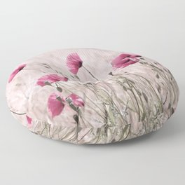 Poppy Pastell Pink Floor Pillow