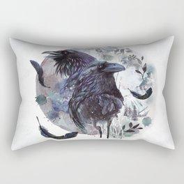 Full Moon Fever Dreams Of Velvet Ravens Rectangular Pillow