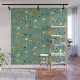 Kitschy Kitchen Wall Mural