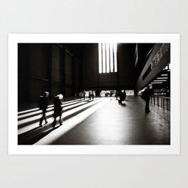 Light & shadows Art Print