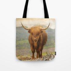 Highland Moo Tote Bag