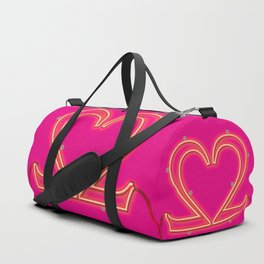 It Takes Two - Neon Duffle Bag