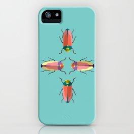 Happy beetles iPhone Case