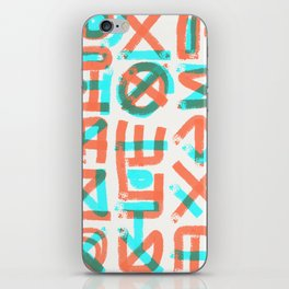 Abstract Graffiti iPhone Skin