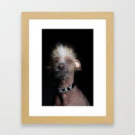Icky Framed Art Print