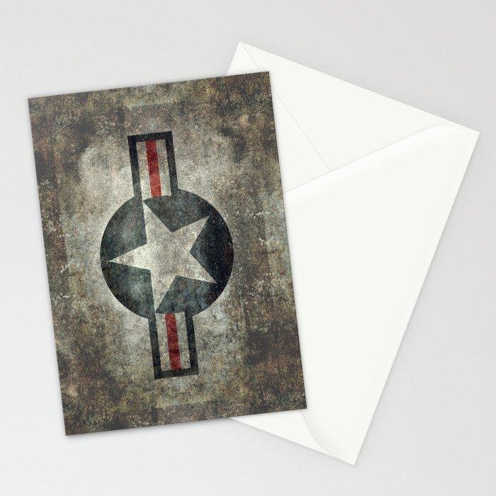 Vintage USAF Roundel Stationery Cards