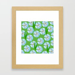 Flowery Meadow Framed Art Print