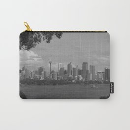Black and White Sydney   New South Wales Carry-All Pouch