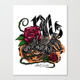 Scorpio - Zodiac Canvas Print