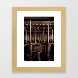 machina. Framed Art Print
