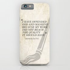Famous Last words: Leonardo Da Vinci Slim Case iPhone 6