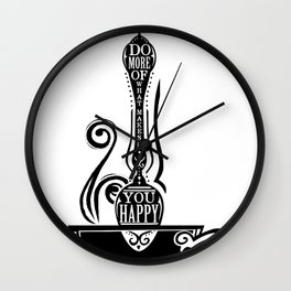 Do More Spoon Wall Clock