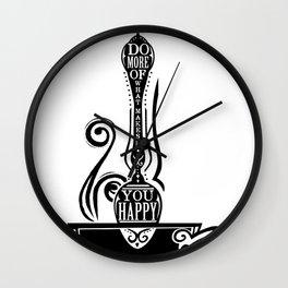 Do More Spoon Wall Clock