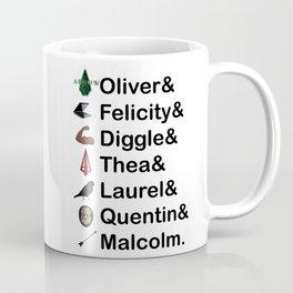 Arrow Names Coffee Mug