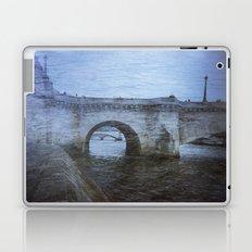 Paris Bridge & Seine Holga Double Exposure Laptop & iPad Skin