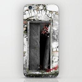 CRETAN DOOR no3-c iPhone Skin