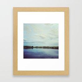 Little Lake Framed Art Print