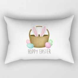 Hoppy Easter Rectangular Pillow