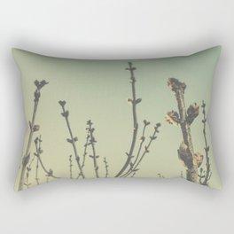 lilac buds Rectangular Pillow
