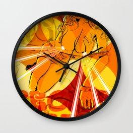 SHAGADELIC FEMBOTS Wall Clock