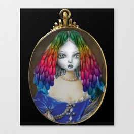 Queen of Imagination Canvas Print