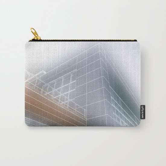 Minimalist architect drawing Carry-All Pouch