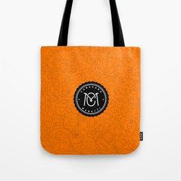 Orange Canovaro Manetti  Tote Bag